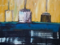 Ölbild Schiffe