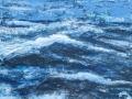 Atlantik 2, Öl u. Acryl auf Leinwand, 90 cm x 120 cm, 2019