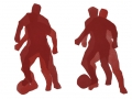Spieler, 55 x 65, 2001