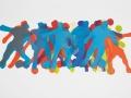 Spielszene Fußball, 50 x 60, 2006