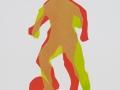 Ein Spieler, 50 x 40 , 2001