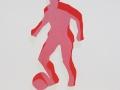 Fußballspieler, 50 x 40, 2001