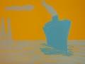 Blauer Dampfer, 50 x 70, 3/5, 2009