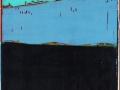 Blauer Rumpf, 140 x 40, 2015
