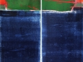 Grünes Schiff, 140 x 80, Zweiteiler, 2015