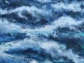 Welle, 80 cm x 80 cm, 2010