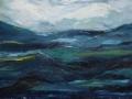 Wellengang, Dreiteiler 3, 50 x 70, 2007