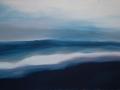 Horizont mit Welle, 50 x 80, 2010