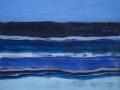Blaues Meer, 50 x 50, 2010