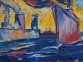 In den Hafen,  60 x 80, 2006