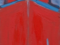 Roter Bug, 90 x 30, 2007