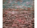 Seestück 2,  70 x 90, Holzschnitt/Acryl, 2020