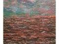 Seestück 3,  70 x 90, Holzschnitt/Acryl, 2020