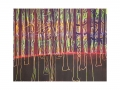 Wald 1, Holzschnitt, 90cm x 70 cm, 2020